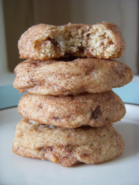 toffee chocolate chip snickerdoodles | Sweets | Pinterest