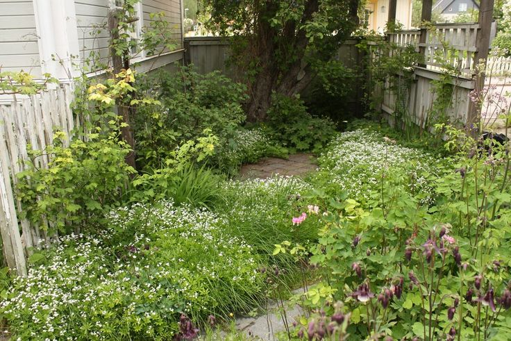 Private Garden Near Stockholm