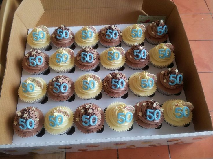 1000+ ideas about 50th Birthday Cupcakes on Pinterest ...