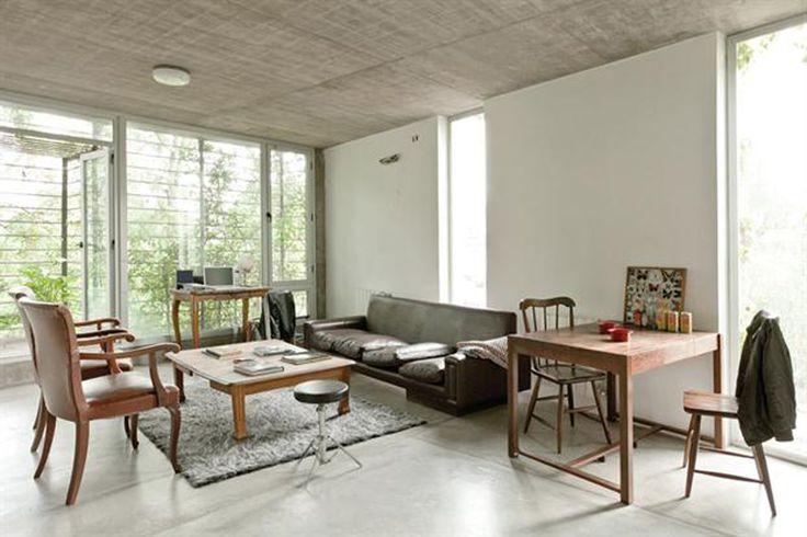 Algunos truquitos para mantener los pisos de cemento alisado. | ESPACIO LIVING