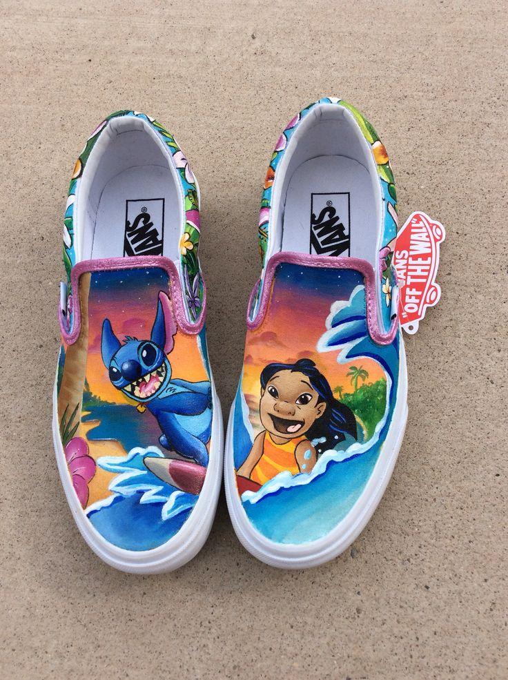 Disney Lilo And Stitch Womens Shoes