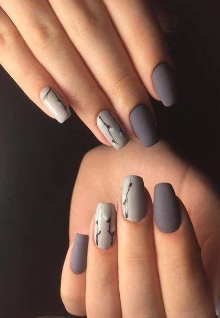 Sparkly Shinny Winter Nails 2019 Nail Art In 2019 Nail Designs