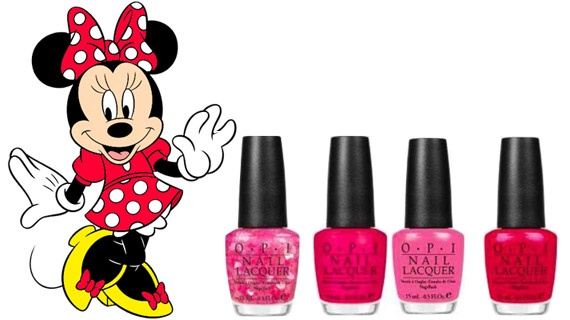minnie mouse opi: Opi Minnie, Nail Polish, Mouse Collection, Hair Makeup Nails, Minnie Mouse, Nails Polish, Opi Vintage, Mouse Opi, Vintage Minnie