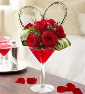 Valentine's Day Cute Flower Arrangement: Love Potion