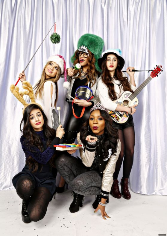 Fifth Harmony with instruments