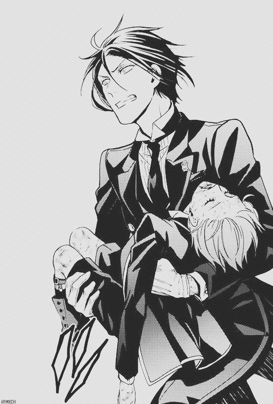 Sebastian and Ciel   Kuroshitsuji