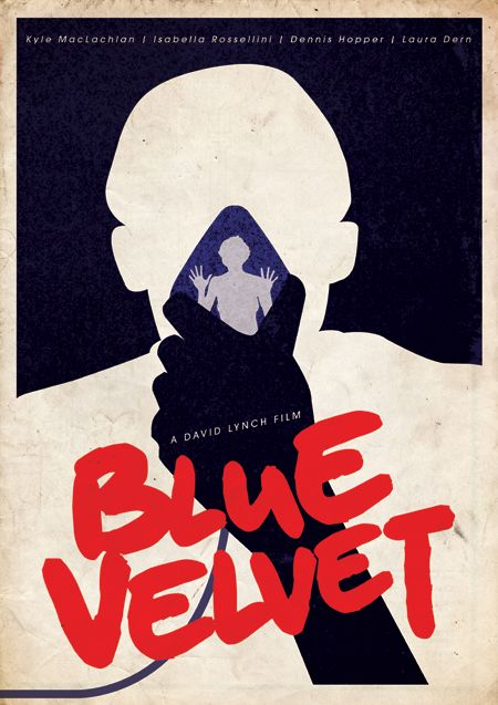 Blue Velvet - One of my favorite Lynch Films, so i decided to do a print as part of an ongoing David Lynch collection