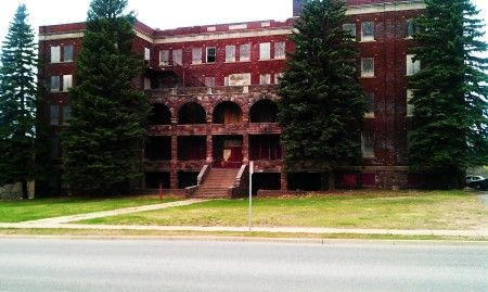 Abandoned Orphanage - Marquette, Michigans....I live a couple blocks from this