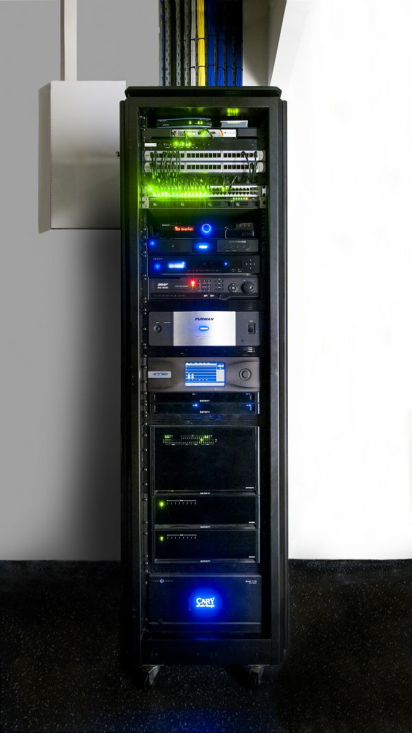 Awesome Discrete Integration AV Rack