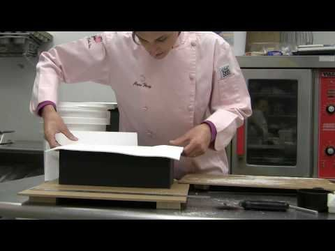 Part II Shoebox and Fancy High Heel Cake Tutorial    Part II of the tutorial reviews the following:  Fondanting the Shoebox  Applying the side fondant panels  Applying the fondant lid  Covering the Heel with Gumpaste  Creating a foot for the heel