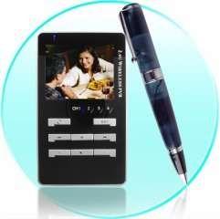 Solar-Powered Pen is a Wireless Spy Cam