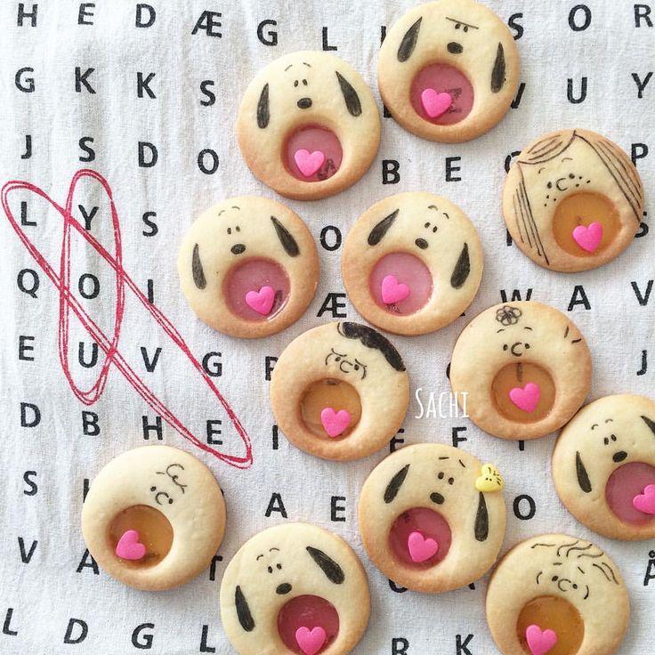 いいね!2,776件、コメント1件 ― Sachiさん(@sachi.ina)のInstagramアカウント: 「¨̮♡︎ おはようございます☀︎ ⁑ オレこのクッキー好きなんだよね〜 って言ってたから パパへのバレンタインは #あーんクッキー  ⁑ 簡単なのに喜ばれる 優秀クッキーです♪ ⁑…」
