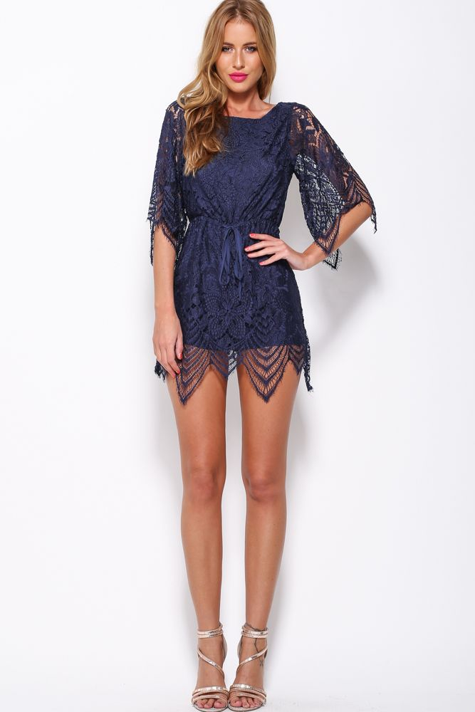 Edge Of The Evening Playsuit, Navy, $69 + Free express shipping http://www.hellomollyfashion.com/edge-of-the-evening-playsuit-navy.html