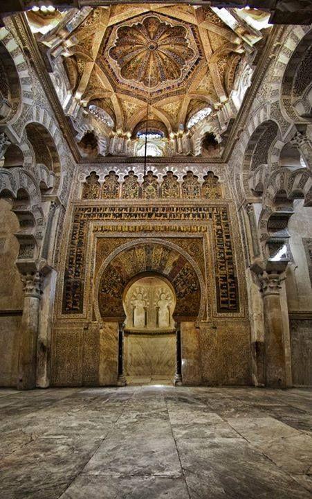 Mezquita,  Córdoba.