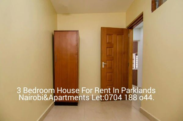 3 Bedroom House For Rent In Parklands Nairobi Apartments Let Welcome Renting A House 3 Bedroom House Apartment