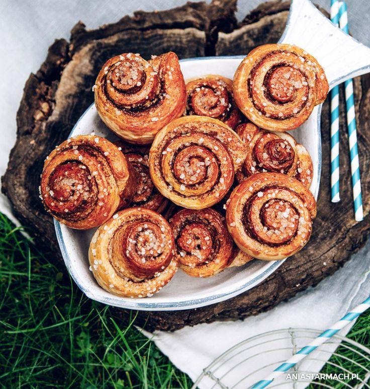 Słodkie i kuszące zapachem cynamonu. Najlepsze na leniwe popołudnie. – Ania Starmach