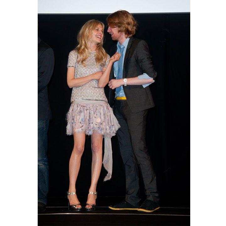 Clémence Poésy romantique en total look Chanel pour Harry Potter - Mode - Plurielles.fr