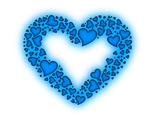 17 migliori immagini su cuori su pinterest blu cobalto - Decoraciones san valentin ...