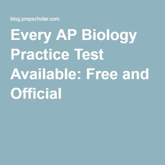 20 best ap biology exam strategies images on pinterest ap biology looking for ap biology practice exams our guide collects the best official and unofficial tests and offers tips on getting the most out of them fandeluxe Choice Image