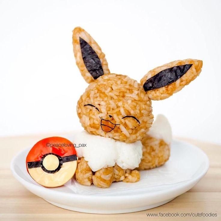 11 Bolas de arroz de Pokémon que son demasiado lindas para comerlas