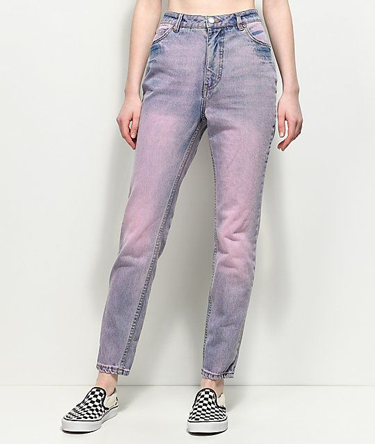 Slim 2019Trousers Cheap Light Monday In Mom Pink Donna Jeans UpLzMjqSVG