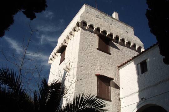 Tower of Chrysoleontissa Aigina island