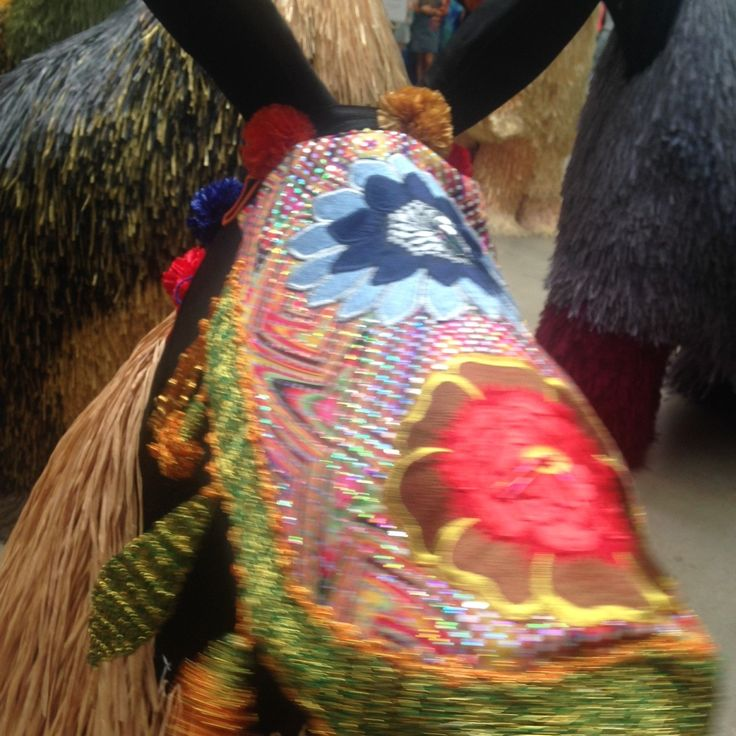 Heard  - Head dress details - by Nick Cave - GOMA