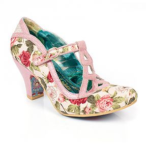 Nicely Done, Vintage and girly  Irregular Choice Shoes here at eshoes www.eshoesdirect.co.uk