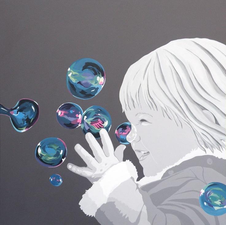 Pigen med sæbeboblerne