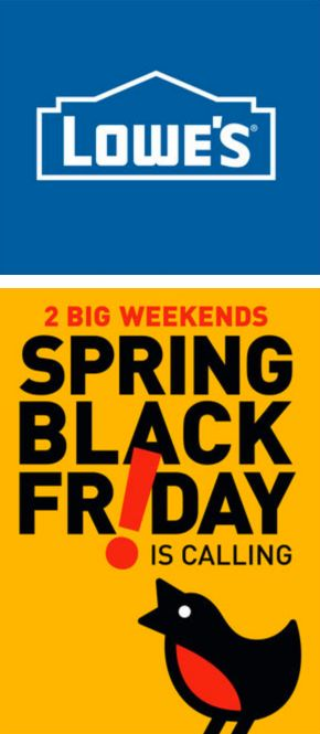 Loweu0027s Black Friday Spring Sale Is On! Deals U0026 Coupons Available For 2  Weeks Only