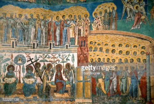 Romania, Bucovina, Voronet Monastery, fresco, #voronet... #voronet: Romania, Bucovina, Voronet Monastery, fresco, #voronet… #voronet