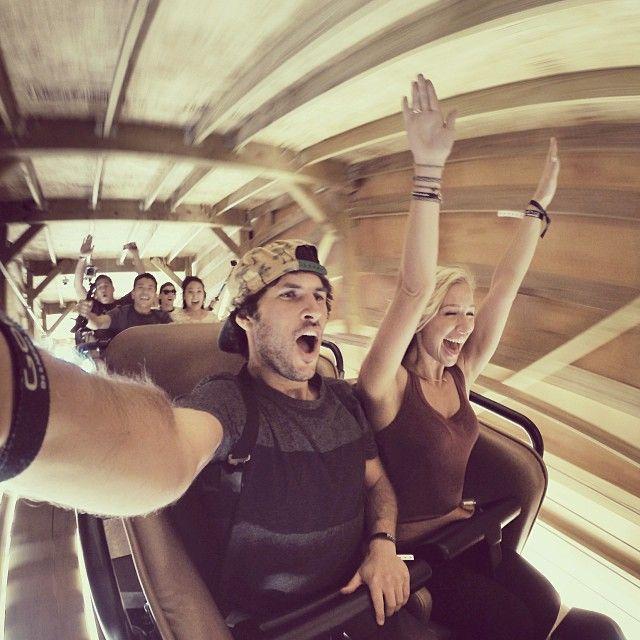 GoPro roller coaster!