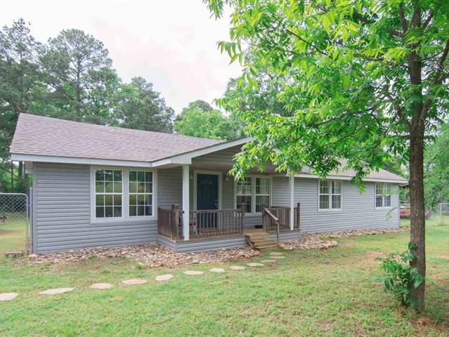 Cute house with lots of updates. House has almost been completely remodeled.  Front yard is fenced for pets or kids. Large lot offers a pleasant country setting.  Easy access to Gladewater Tyler and UT Health Northeast.