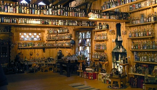 Are ALL those bottles vodka? Read Types of Vodka: http://bestvodka.net/types-of-vodka/