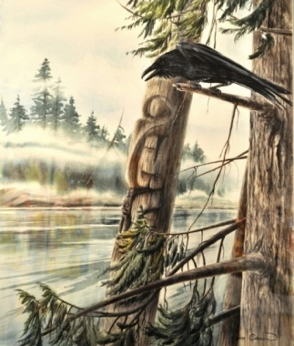 Totem by Sue Coleman