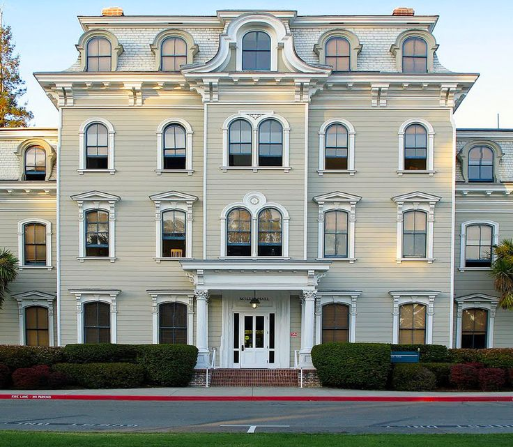 Not a craftsman, I know ... but just the top floor and mansard - beautiful! Mills College, Oakland, CA