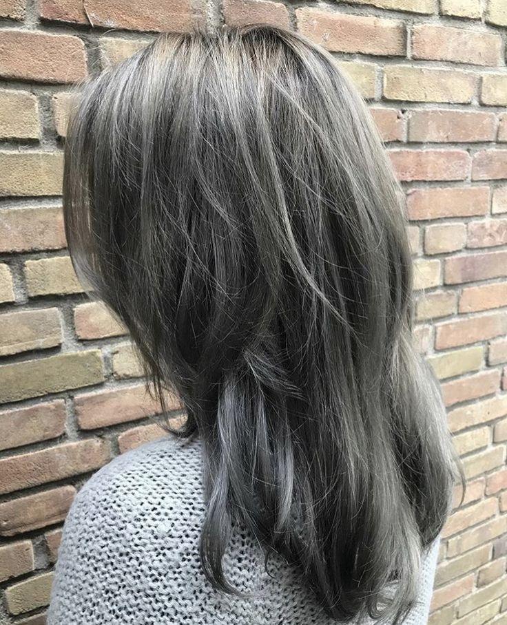 Ash grey hair | ash brown hair