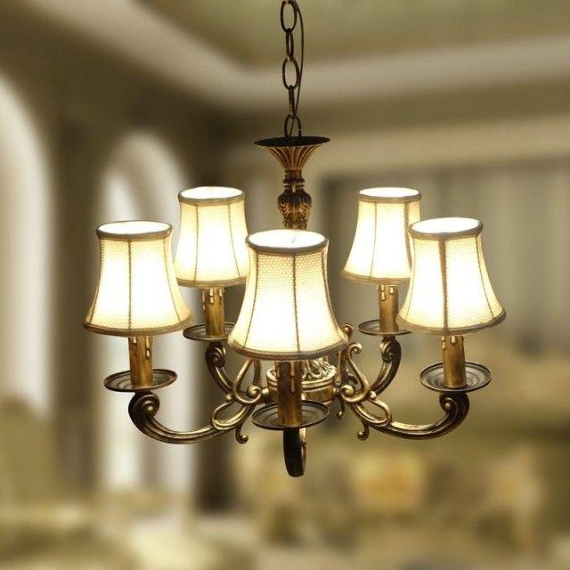 Современная мода люстра классическая бронзовая подвеска люстра люстра Освещение Современная Бесплатная Доставка
