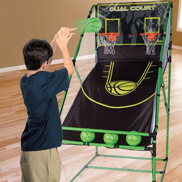 3in1 Kids Arcade Centre & Rebound Basketball Game