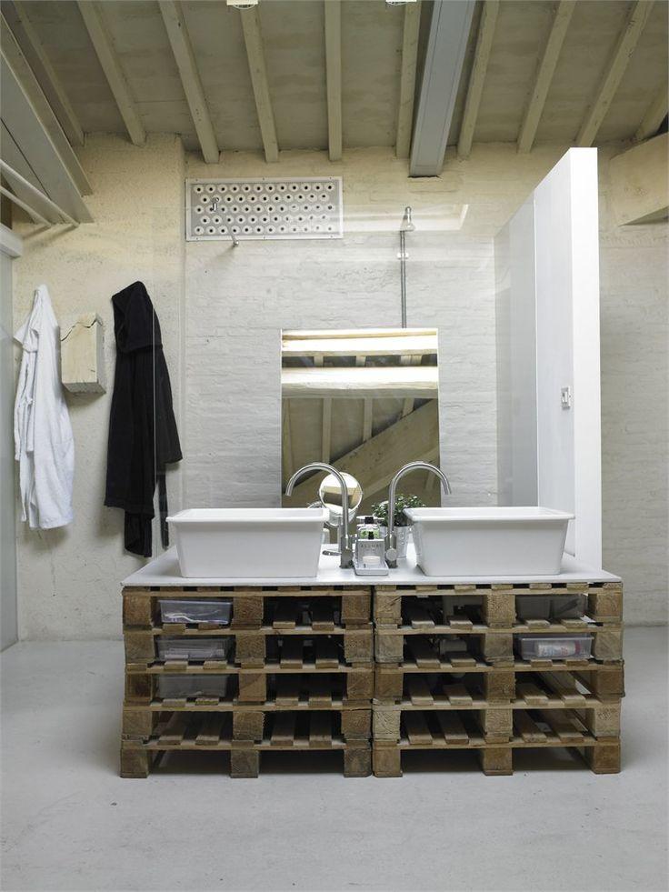 Reaproveitando na decoração do banheiro – Ideias Diferentes
