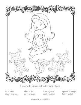 Beautiful French Coloring Book 68 French Coloring Sheet u