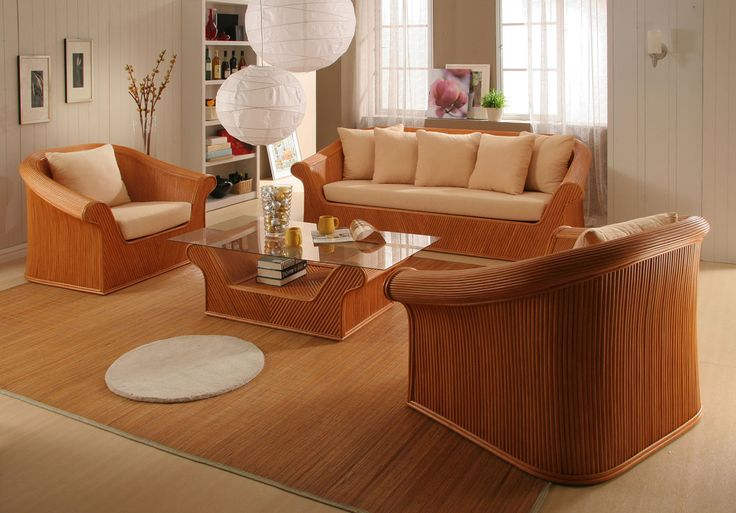 17 best images about indoor seating on pinterest small - Rattan living room furniture for sale ...