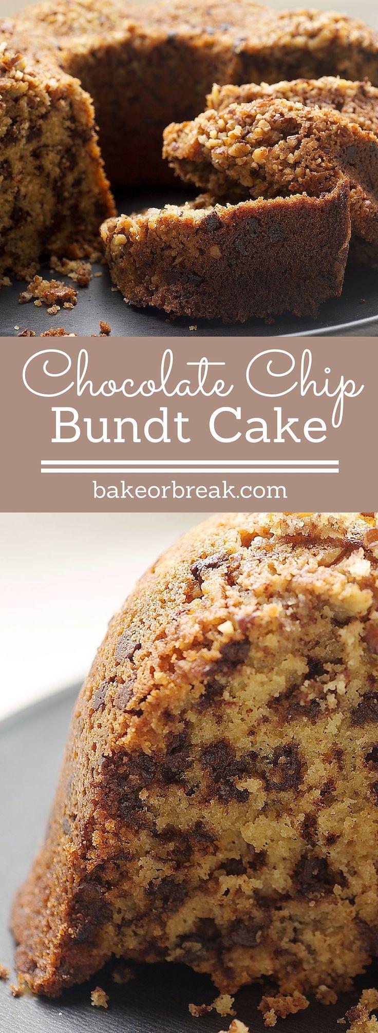 Chocolate chip bundt cake recipe chocolate chip bundt