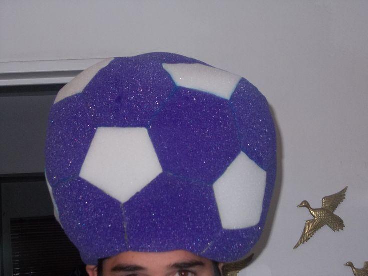 Goma espuma (gorros): Pelota violeta
