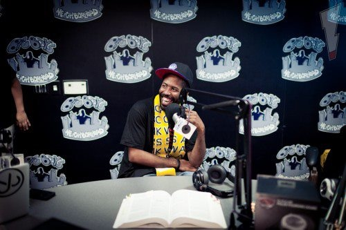"Big Boy's Neighborhood asked Murs - ""Does ANYTHING make you upset?"" — at Power 106 FM."