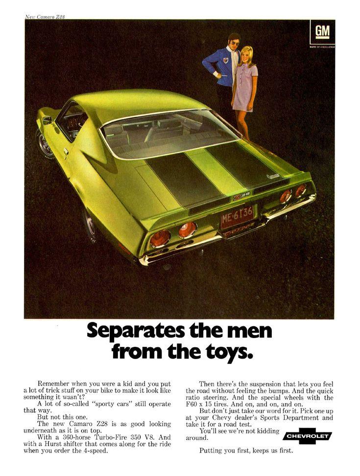 1970 Chevy Camaro Ad