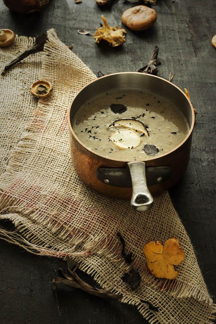CREMA DE BOLETUS Y SETAS CON TRUFA NEGRA AL ARMAGNAC | Sweet And Sour