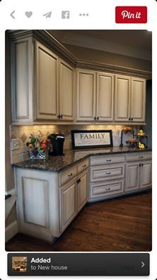 Pin by andrea valois on flavor of the month chalk paint for Kitchen cabinet painting atlanta