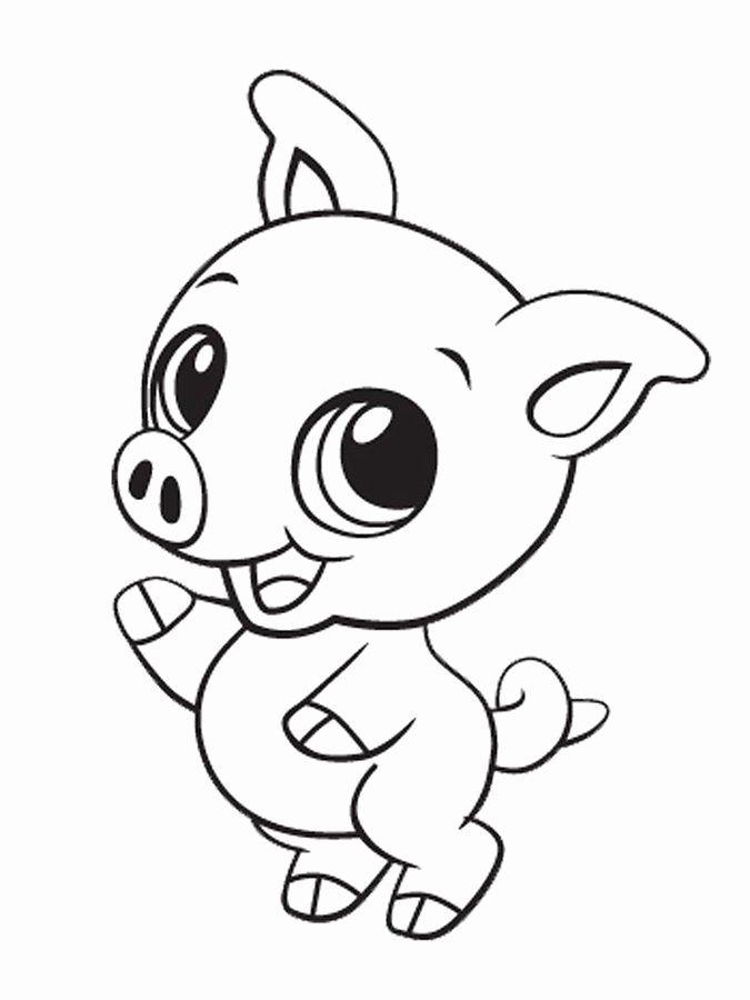 Cute Animal Coloring Sheets In 2020 Cute Kawaii Animals Cute Baby Animals Cute Coloring Pages