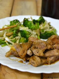Cuuking!: Cerdo teriyaki con verduras salteadas